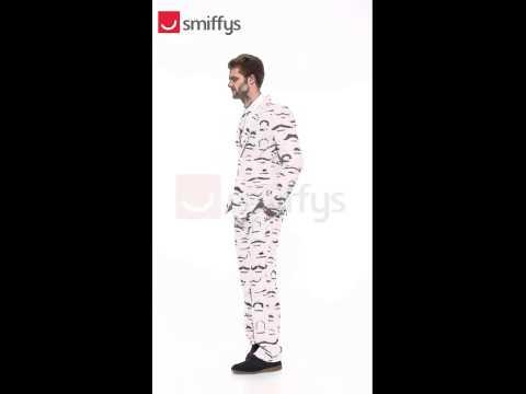 Smiffy's Moustache Suit