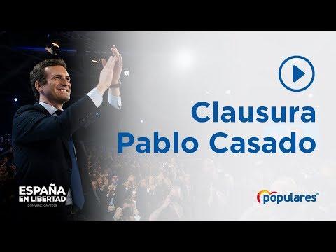 Pablo Casado clausura la Convención Nacional de Ma...