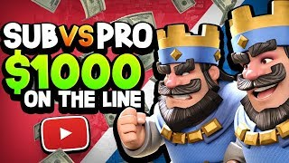Video SUBS vs PRO for $1,000 CASH!? CAN THEY WIN?! MP3, 3GP, MP4, WEBM, AVI, FLV Desember 2018