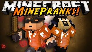 Minecraft MinePranks : PRANKING ANTVENOM!
