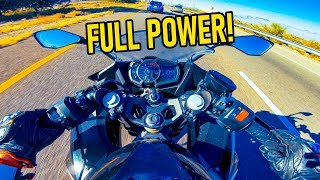 7. KAWASAKI NINJA 400 IS A BEAST! 🔥 SAVAGE MOTOVLOG 🔥