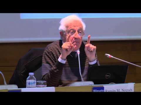 'Neurociències i espiritualitat. Com construïm el nostre jo', conferència de Ramon M. Nogués a Bilbao
