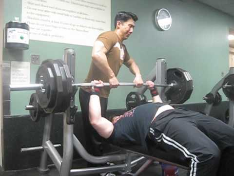 385 Raw Bench Press for 2 reps