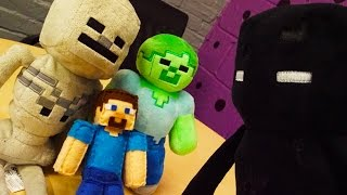 MINECRAFT PLUSHY ADVENTURE - Kidnapped by an Enderman!