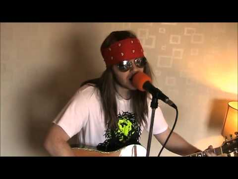 November Rain Audition Video for Guns N Roses Tribute Band by Gareth Rhodes