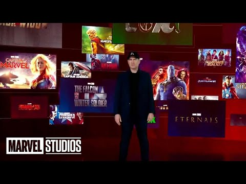 MARVEL PHASE 5 FULL SLATE REVEAL   All Trailer Footage and Announcements Disney Investors Day