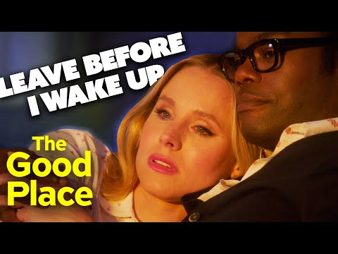 Chidi and Eleanor's Final Goodbye | The Good Place | Comedy Bites