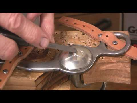 0 Bit Making How to Make Handmade Horse Bits Part 4
