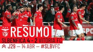 Video HIGHLIGHTS: SL Benfica 4-2 Vitória FC MP3, 3GP, MP4, WEBM, AVI, FLV April 2019