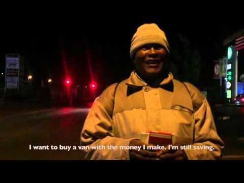 I am a night cigarette street seller