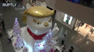 Out with the Trump rooster, in with the Trump dog in China