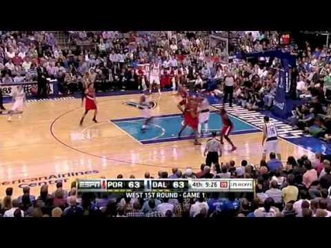 Game 1: Portland Trail Blazers 81 – Dallas Mavericks 89