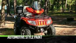 10. Arctic Cat ATV 2UP RECREATION 2014 Takes two to do the TRV tango.