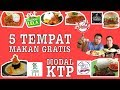 Download Lagu TERBUKTI 100% ! 5 TEMPAT MAKAN GRATIS MODAL KTP WAJIB COBA #EPS10 Mp3 Free