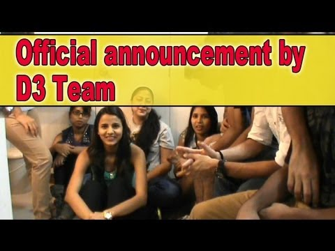 D3 - official announcement by d3 team.