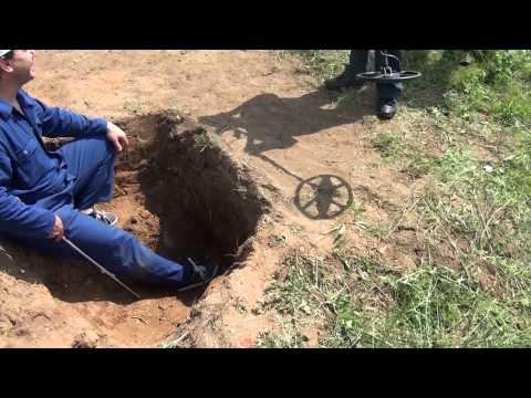 Test of depth- Nexus and  Blisstool Metal Detectors
