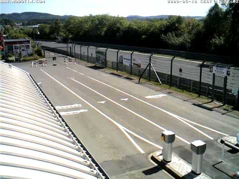Nurburgring Webcam Timelapse taken 19th May 2009
