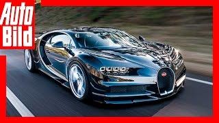 Bugatti Chiron - Renntaxi in Goodwood (Erste exklusive Mitfahrt im 1500 PS Bugatti 2016) by Auto Bild