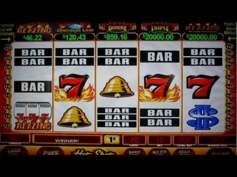 Playing the Lucky 7's Slot Machine in Las Vegas