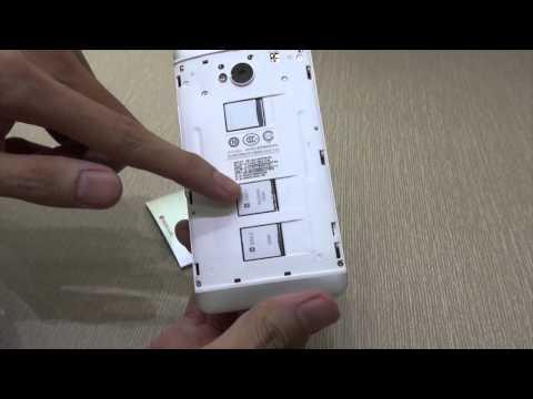 Video điện thoại HTC One phiên bản hai SIM (802w)