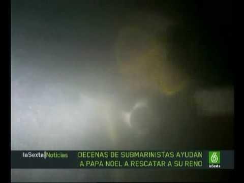 Concentración de Papá Noeles Bajoelagua.com