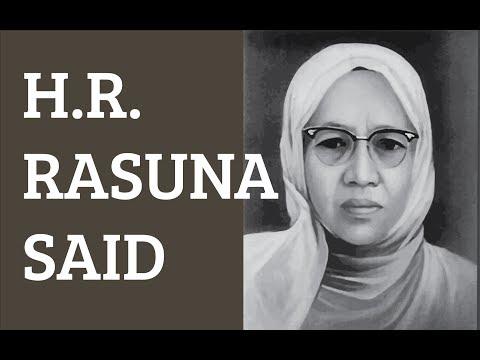 H.R. Rasuna Said - Historinesia