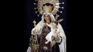 Bela oração em honra de Nossa Senhora do Carmo.