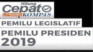 LIVE HITUNG CEPAT PEMILU PILPRES 2019 Litbang Kompas