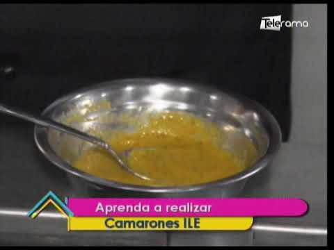 Aprenda a realizar Camarones ILE