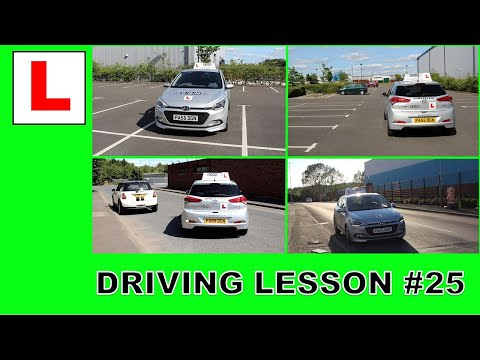 All of the Driving Test Manoeuvres 2020 - Driving Lesson #25