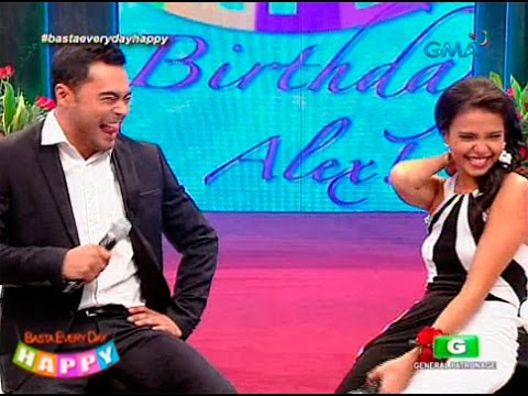 Alessandra - Sa birthday celebration ni Alessandra de Rossi sa 'Basta Every Day Happy', dumating si Sid Lucero at pinakilig ang mga manonood. -------------- Subscribe to the GMA Network channel! - http://goo.gl...