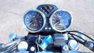 7. It is impossible of an engine start. MOTO GUZZI V7 CLASSIC