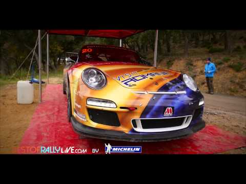 Vídeo test Francois Delecour Porsche 997 WRC Rallye Monte Carlo 2015
