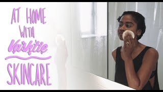 Vashtie shares her skincare necessities, and gives us a quick look into her everyday beauty routine. Subscribe: http://bit.ly/1Qq1i0IProductsCleanser: Biologique Recherche Lait E.V. http://bit.ly/1KfJP6tBalancing Exfoliator: Biologique Recherche Lotion P50 1970 http://bit.ly/1OgWjSCToner: Simply Divine Botanicals Gypsy Rose Tea http://bit.ly/1Zn1sZ5Moisturizer: Luzern Laboratories Force de Vie http://bit.ly/1Q8wJ1pFollow VashtieFacebook: http://www.facebook.com/vashtie.kolaTwitter: http://twitter.com/vashtieInstagram: http://instagram.com/vashtieTumblr: http://vashtie.tumblr.comSoundcloud: https://soundcloud.com/vashtieWebsite: http://www.vashtie.com