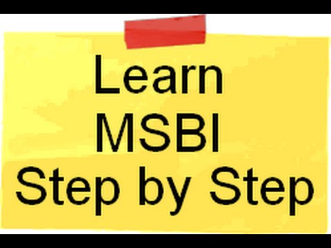 Learn SSIS,SSAS and SSRS ( MSBI ) Step by Step