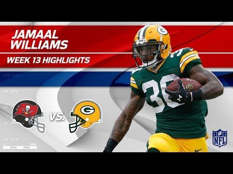 Video: Jamaal Williams' 123 Total Yards & 1 TD vs. Tampa Bay! | Bucs vs. Packers | Wk 13 Player Highlights