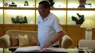 Hong Kong International Airport May 11, 2017 President Rodrigo Roa Duterte and the Philippine delegation arrived shortly before...