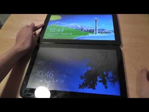 EXOPC vs. Samsung Series 7 Windows Slate Comparison: