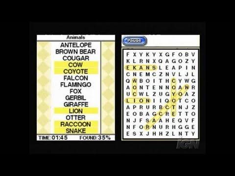 nintendo ds crosswords cheats