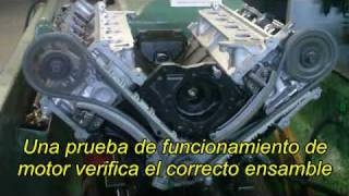 Prueba de Funcionamiento de un Motor Remanufacturado