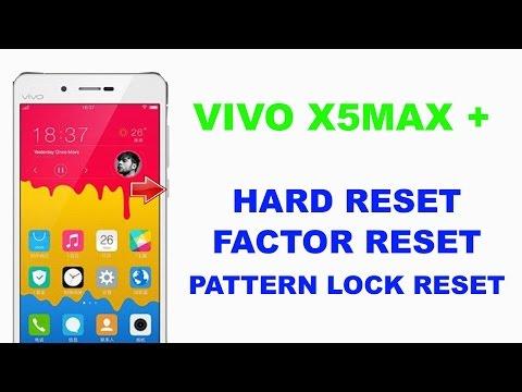 VIVO X5MAX PLUS  HARD RESET | VIVO X5MAX PLUS PATTERN LOCK SOLUTION
