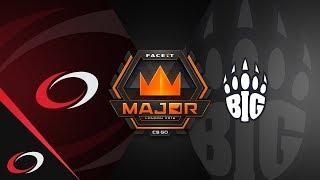 coL.cs vs BIG - FACEIT London Major 2018 | CS:GO Highlights