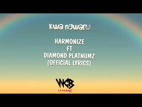 Video Harmonize ft Diamond Platnumz - Kwa Ngwaru (Official Lyrics) download in MP3, 3GP, MP4, WEBM, AVI, FLV January 2017