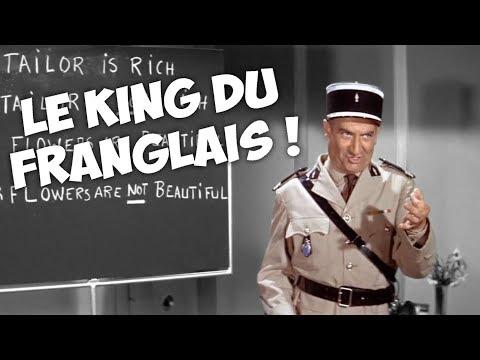 3 minutes de langues étrangères avec Louis de Funès !