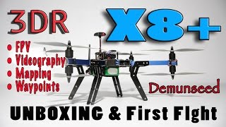 UNBOXING - 3DR X8+ - Demunseed