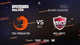 TNC Predator vs WarriorsGaming.Unity, EPICENTER Major 2019 SA Closed Quals , bo1 [Mortalles]