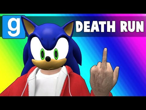 Gmod Deathrun Funny Moments - Sonic Map! (Garry's Mod) (видео)