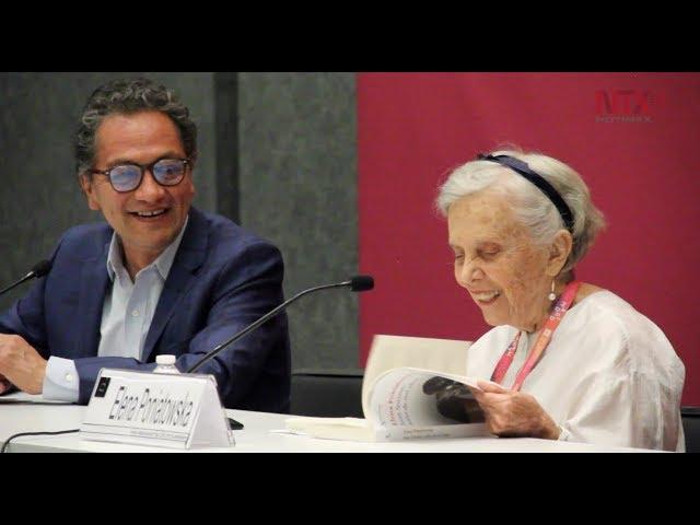 """Elena Poniatowska presenta su libro """"Juan Soriano, un niño de mil años"""""""