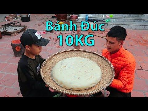 Hữu Bộ | Thử Làm Chiếc Bánh Đúc Khổng Lồ 10KG - Thời lượng: 19 phút.