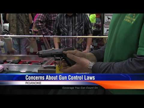 Roanoke Gun Show Draws Record Crowd & Concerns Over Gun Laws